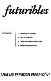 Futuribles N.81 Octobre 1984 - Couverture - Format classique