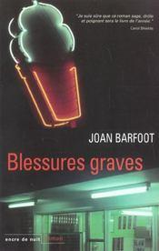 Blessures Graves - Intérieur - Format classique