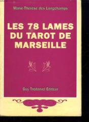 78 lames du tarot de marseille (les) - Couverture - Format classique