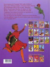 Lili t.15 ; Lili à l'Olympia sporting club - 4ème de couverture - Format classique