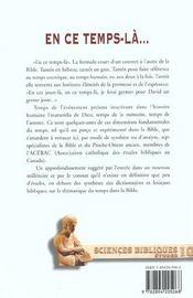 En Ce Temps-La... - 4ème de couverture - Format classique