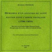 Vol. Xxi Memoires D'Un Officier De Sante Maltais Dans L'Armee Francaise - Couverture - Format classique