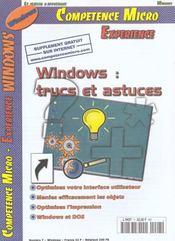 Competence Micro ; Windows 95 Et 98 : Trucs Et Actuces - Intérieur - Format classique