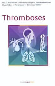 Thromboses - Couverture - Format classique