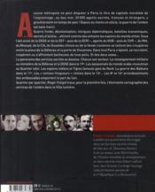 Paris nid d'espions ; les services de l'ombre dans la ville lumière - 4ème de couverture - Format classique