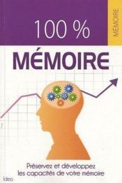 100% mémoire - Couverture - Format classique