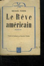 Le Reve Americain. - Couverture - Format classique