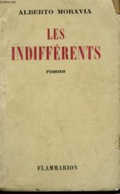 Les Indifferents. - Couverture - Format classique