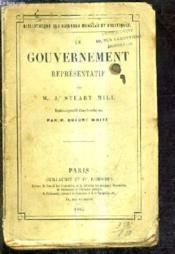 Le Gouvernement Representatif. - Couverture - Format classique