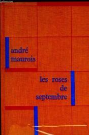 Les Roses De Septembre - Couverture - Format classique