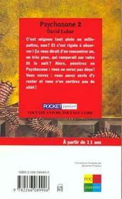 Psychozone T.2 - 4ème de couverture - Format classique
