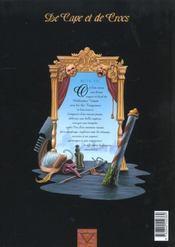 De cape et de crocs T.3 ; l'archipel du danger - 4ème de couverture - Format classique