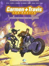 Carmen + Travis T.1 ; les récits - Intérieur - Format classique