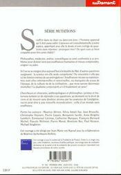 Les Souffrances - 4ème de couverture - Format classique
