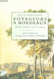 Voyageurs A Bordeaux - Couverture - Format classique