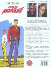 Bob Morane ; intégrale t.22 ; les tours de cristal ; le collier de Civa ; la galère engloutie - 4ème de couverture - Format classique
