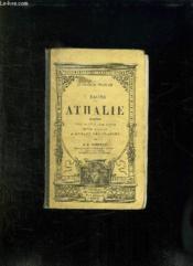 Athalie. Tragedie Tiree De L Ecriture Sainte . Edition Nouvelle A L Usage Des Classes. - Couverture - Format classique