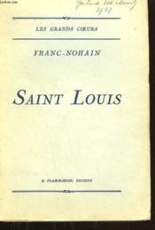 Saint Louis. - Couverture - Format classique
