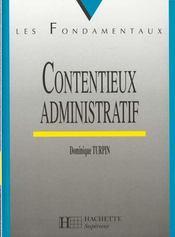 Contentieux Administratif - Intérieur - Format classique