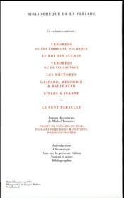 Romans ; le vent paraclet - 4ème de couverture - Format classique