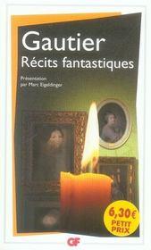 Récits fantastiques - Intérieur - Format classique