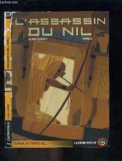 L'assassin du nil t.2 - Couverture - Format classique