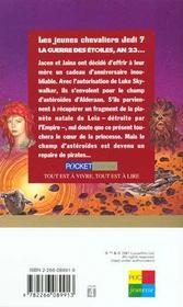 Le Coeur D'Alderaan T.7 - 4ème de couverture - Format classique