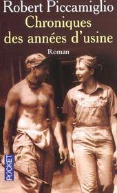Chronique Des Annees D'Usine - Intérieur - Format classique