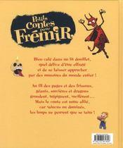 Petits Contes Pour... ; Frémir - 4ème de couverture - Format classique