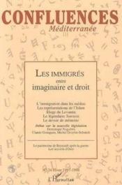 Les Emmigres Entre Imaginaire Et Droit - Couverture - Format classique