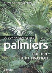 La connaissance des palmiers - Couverture - Format classique