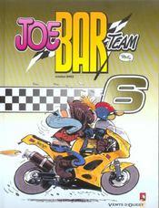 Joe bar team t.6 - Intérieur - Format classique