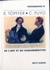R. Topffer - C. Puyo - De L'Art Et Du Daguerreotype - Couverture - Format classique