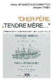 Cher Pere Et Tendre Mere... - Couverture - Format classique