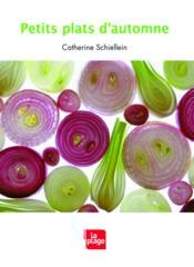 Petits plats d'automne - Couverture - Format classique