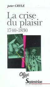 La crise du plaisir (1740-1830) - Intérieur - Format classique