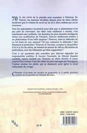 La gestion de l'erosion des cotes. l'exemple aquitain - 4ème de couverture - Format classique