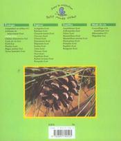 Les arbres - 4ème de couverture - Format classique