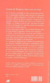 Cyrano de Bergerac dans tous ses états - 4ème de couverture - Format classique