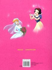 Disney Color Parade Princesses - 4ème de couverture - Format classique