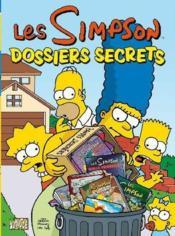 Les Simpson t.7 ; dossiers secrets - Couverture - Format classique