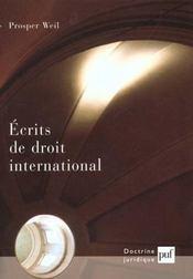 Écrits de droit international - Intérieur - Format classique