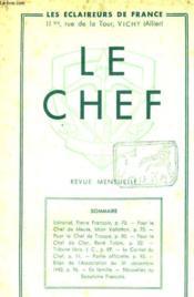 Le Chef N° 234 Avril 1943 - Couverture - Format classique