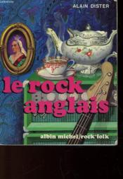 Le Rock Anglais - De Tommy Steele A David Bowie - Couverture - Format classique