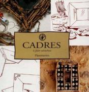 Cadres A Faire Soi-Meme - Couverture - Format classique