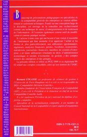 Comptabilite generale ; 7e edition - 4ème de couverture - Format classique
