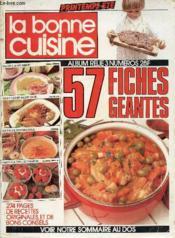 Printemps Ete N°51/52/53 - La Bonne Cuisine - 57 Fiches Geantes - Couverture - Format classique