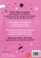 Isadora Moon t.11 ; Isadora Moon va à la plage - 4ème de couverture - Format classique