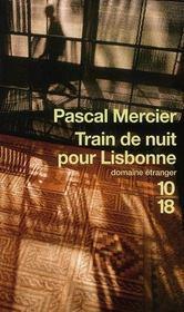 Train de nuit pour Lisbonne - Intérieur - Format classique
