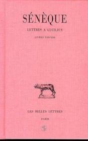Lettres a lucilius t3 l8-13 - Couverture - Format classique